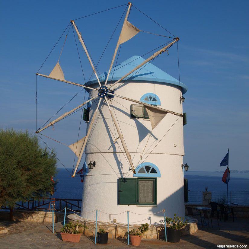 Molino de viento en Zante