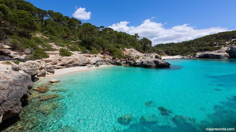 Mejores playas de Menorca. Cala Mitjana y Mitjaneta
