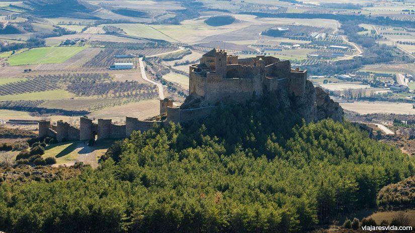 Castillo de Loarre, la fortaleza románica más importante del norte de España
