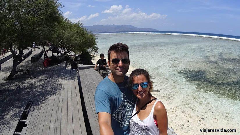 Nosotros en las islas Gili
