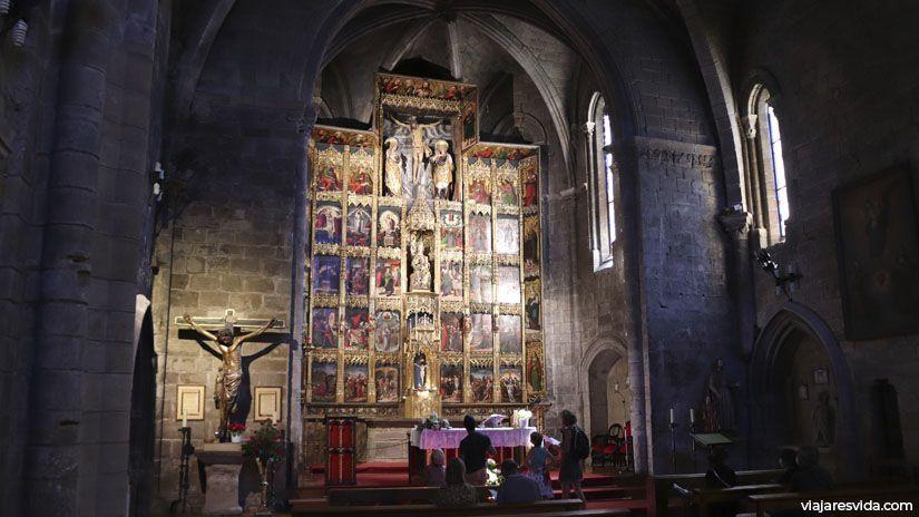 Retablo de la Iglesia de Santa María
