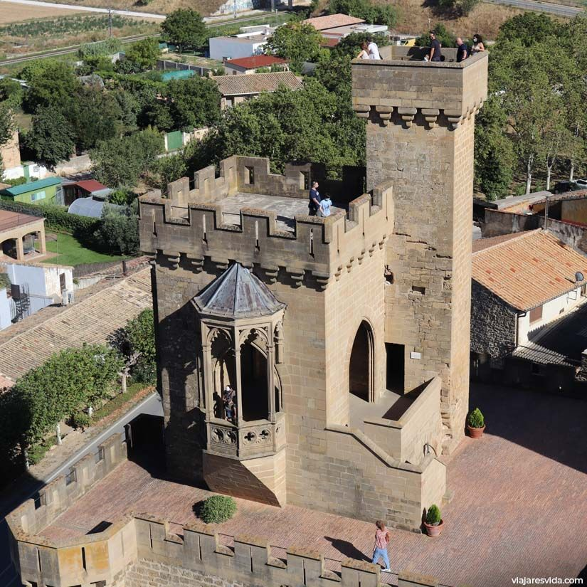 Torre de los Cuatro Vientos del Castillo de Olite