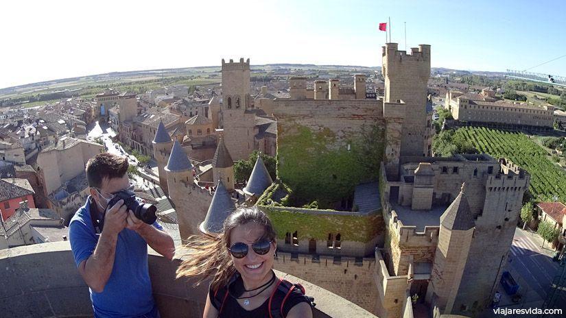 El castillo más lujoso de España, el castillo de Olite