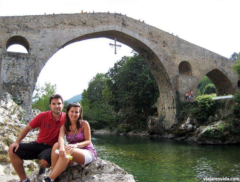 """Puente """"romano"""" de Cangas de Onís"""