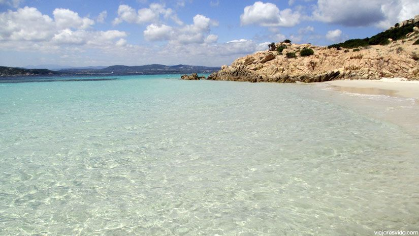 Cala Soraia en la isla de Spargi