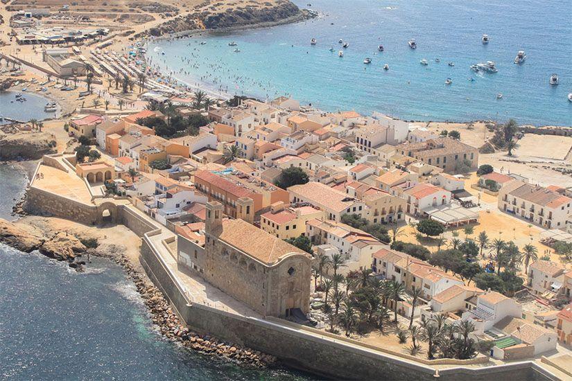 Isla de Tabarca en Santa Pola (Alicante)