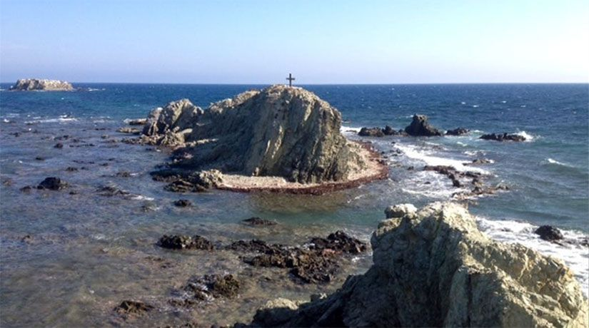 Punta Falcó, el punto más al este de la isla