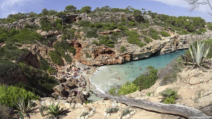 Caló des Moro. La mejor playa que ver en Mallorca