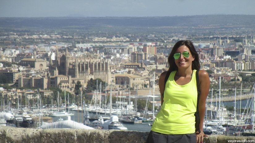 Palma de Mallorca desde el Castillo de Bellver