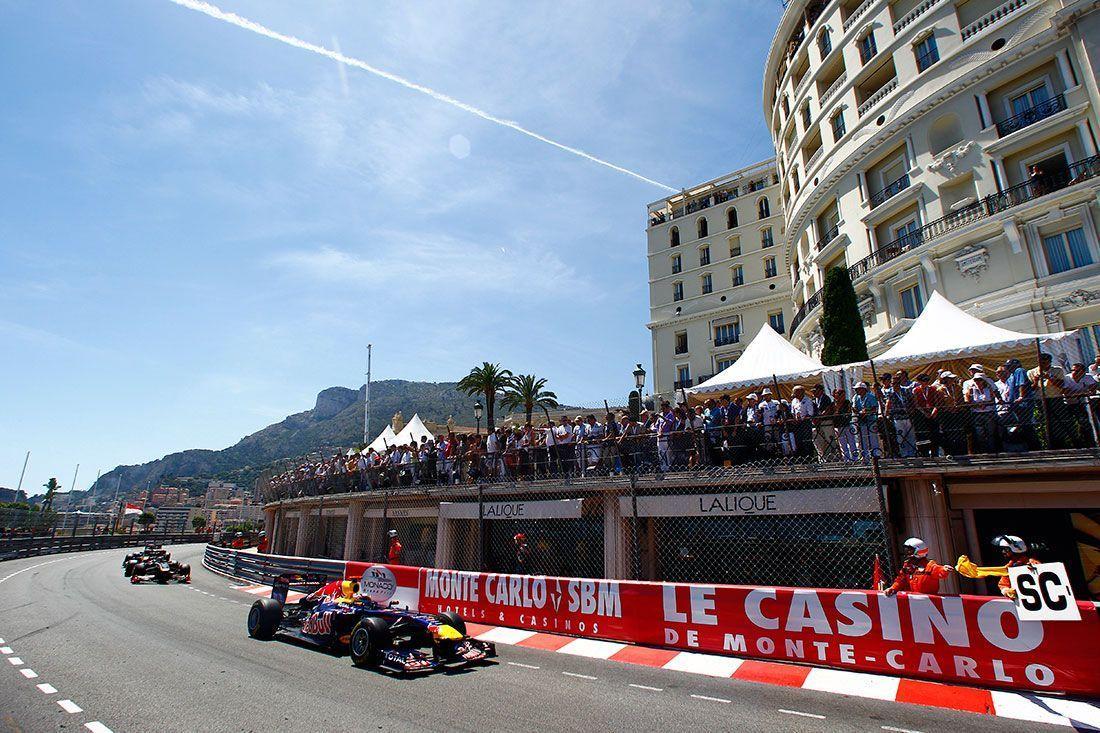 Carrera del Gran Premio de Mónaco