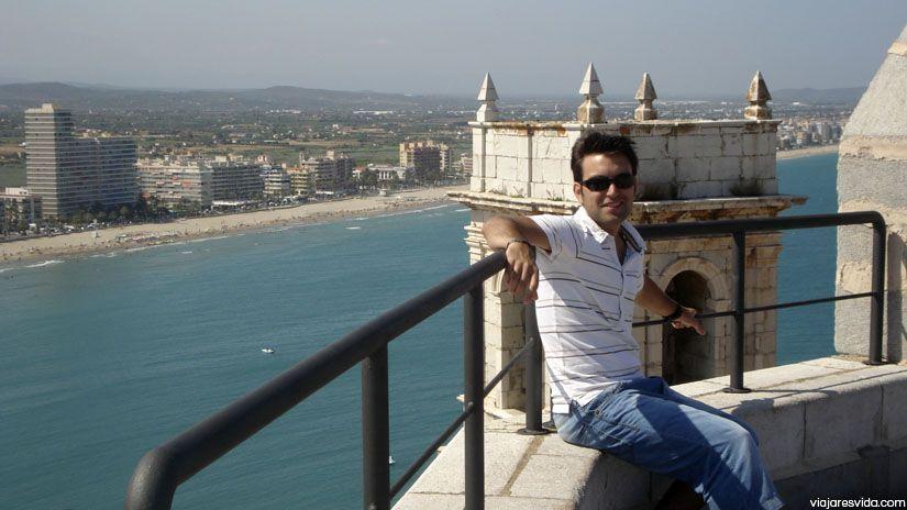 Vistas a la Playa Norte desde el Castillo de Peñíscola