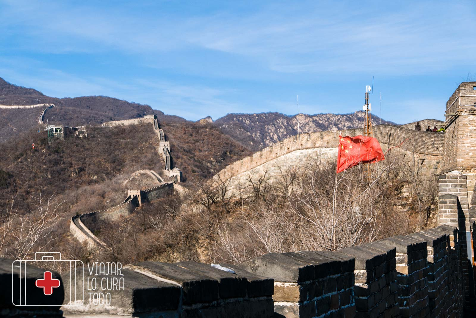 uncrowded great wall