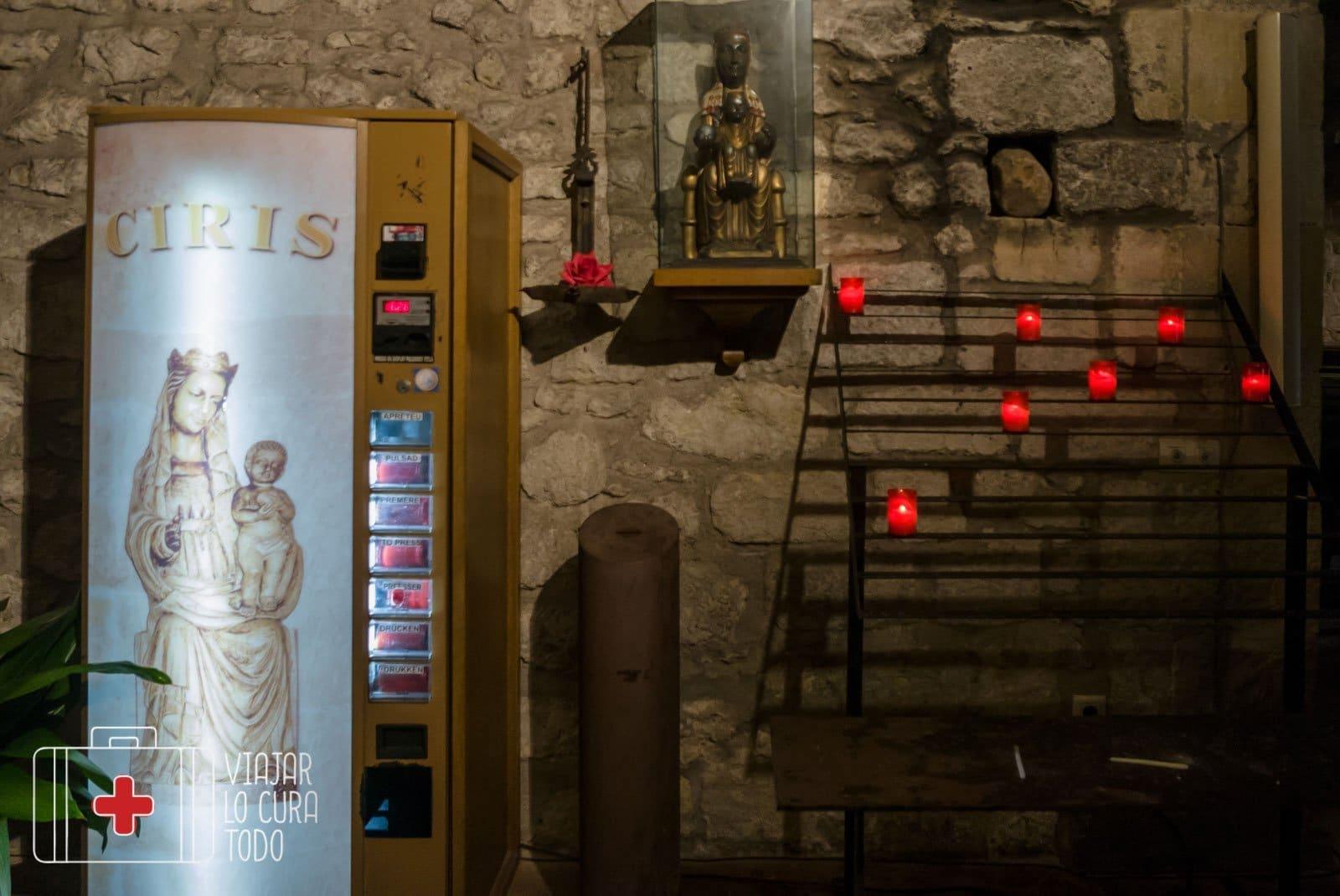 Vending de cirios en Sant Pere, Pals