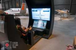 simulador avión aeroscopia