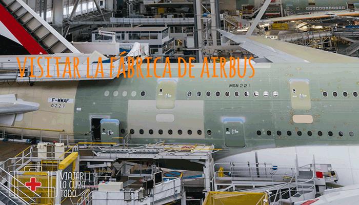 Visitar la fábrica de Airbus en Toulouse