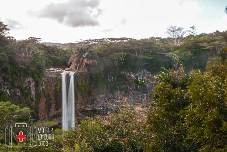 Cascada de Chamarel