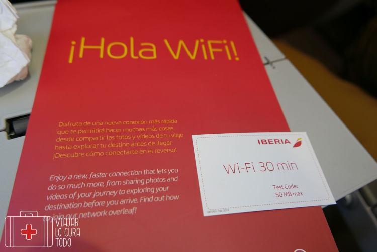Información sobre el wifi