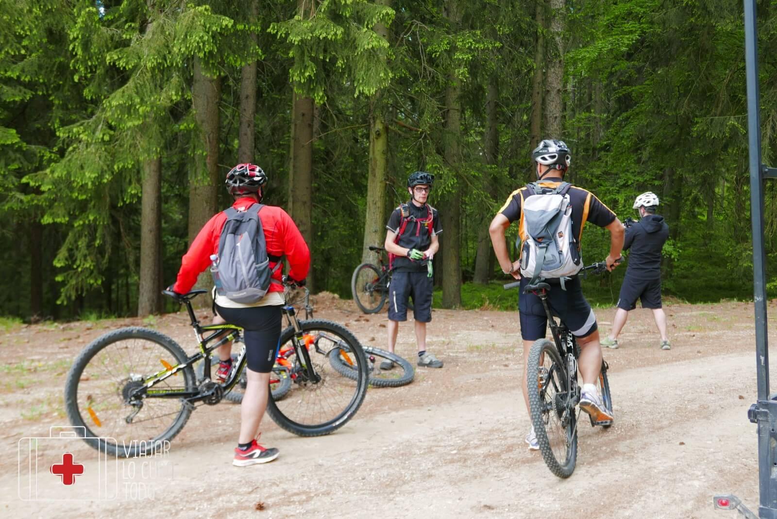 single trail Jamnica Slovenia