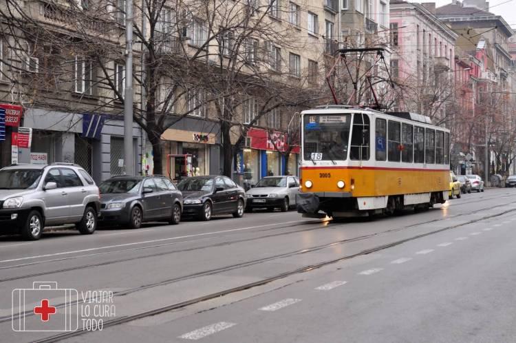 Sofia tramway