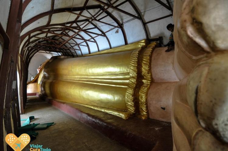 buda recostado Bagan