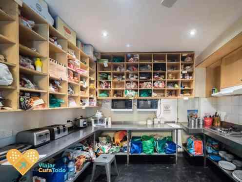Nomads Melbourne hostel Kitchen