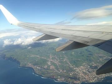 São Miguel desde el aire