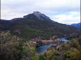 Ésta es la situación de los embalses de la Sierra de Cazorla, Segura y Las Villas