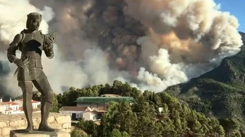 ¿Qué hacer en caso del que el fuego nos sorprenda en mitad del monte?