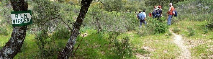 Subida al Santuario de la Virgen de la Cabeza desde Marmolejo, el 1 de mayo