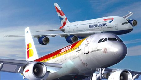 Iberia-y-British-Airways