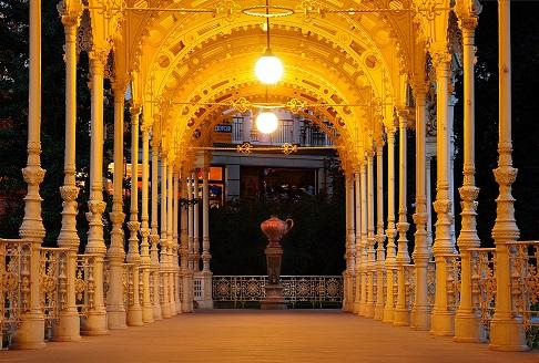 Karlovy Vary_columnata_fuente de  serpiente_Ladislav Rennerlow