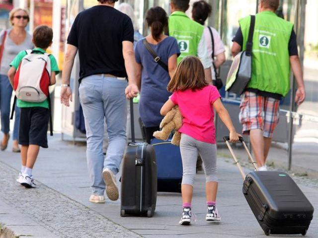 Así viajan las familias españolas