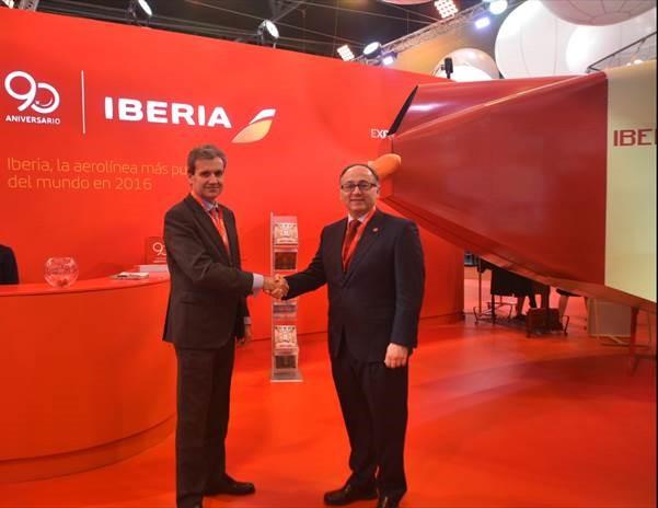 Iberia y Renfe
