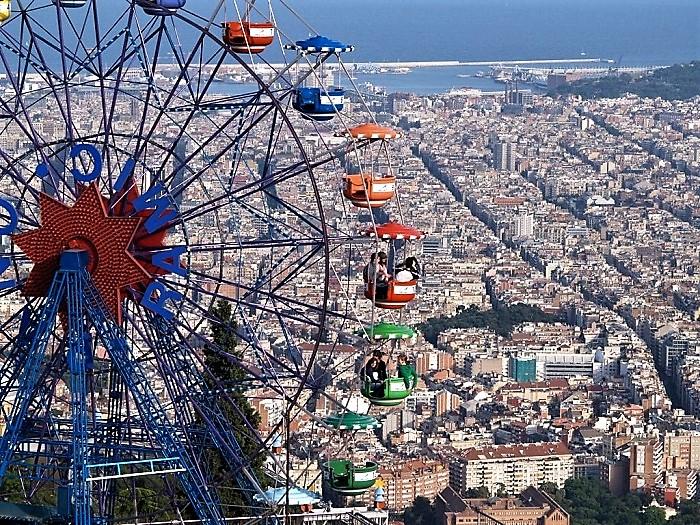 Tibidabo-Barcelona
