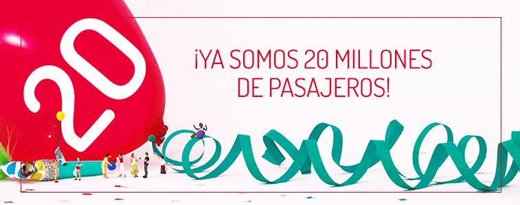 20millones Pasajeros Iberia Express