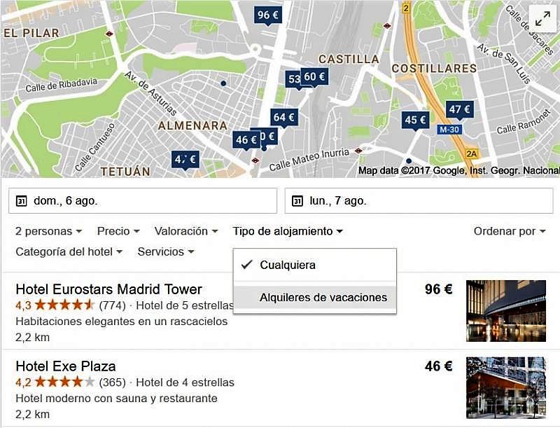 google-apartamentos