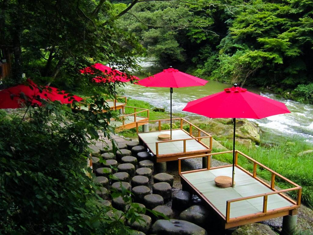 Kakusen gorge, Kaga-shi, Ishikawa, Japan