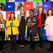 Mujeres premiadas en los Technology Playmaker Awards 2019