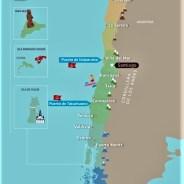 5 puertos para recorrer Chile, el país de los contrastes