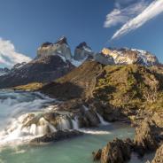 Salto Grande, el paraíso patagónico de Torres del Paine