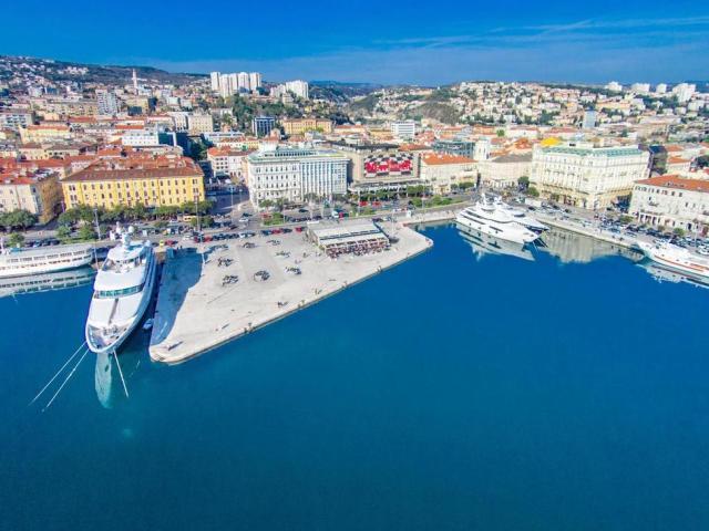 El puerto de Rijeka, Capital Europea de la Cultura