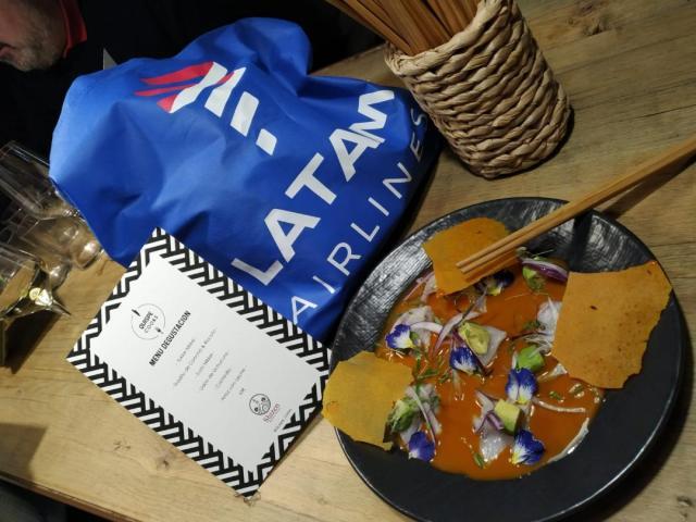 La gastronomía peruana actual aterriza en Madrid con Latam