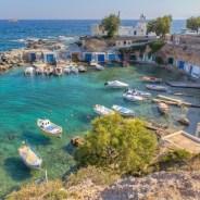 Playas solitarias, calas escondidas y puestas de sol en Grecia
