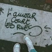 El amor corre por las calles de París. ¿Vienes?