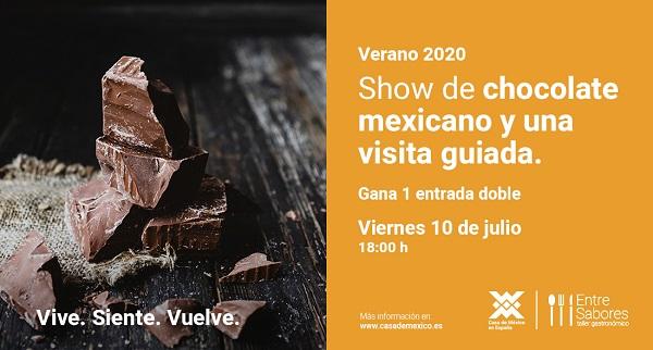 Gana una entrada doble para saborear el mejor chocolate mexicano