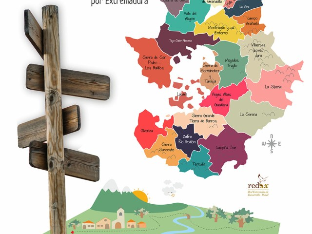 Guía · Paseos rurales por Extremadura