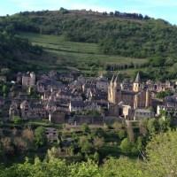 Visitar a vila de Conques, França