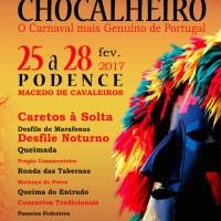 Entrudo Chocalheiro em Podence - 25 a 28 de fevereiro'2017 - Macedo de Cavaleiros