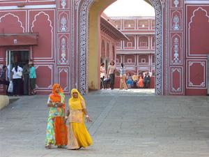 Palacio de la Ciudad de Jaipur en Viaje por Indiar