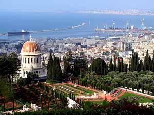 sede mundial bahá´i en Haifa, Israel